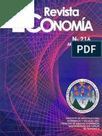 Revista Economía No. 216 Abril Junio 2018