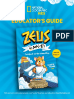 Zeus the Mighty the Quest for the Golden Fleas - Educator Guide