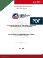 TESIS PUCP VINCULACIÓN DEL CONVENIO ARBITRAL.pdf