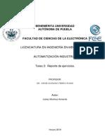 Reporte de ejercicios Automatizacion Industrial_Programacion PLC