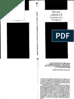 Gallart - La Integracion de Metodos y La Metodologia Cualitativa