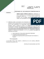 Solicitud de Anulacion de Registro en SGF - MPFN