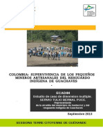 Pequeña Mineria en Guachaves