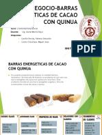Idea de Negocio-barras Energeticas de Cacao Con Quinua