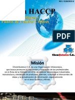 Presentacion de curso HACCP