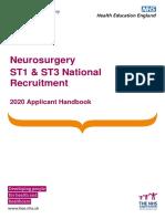 2020 Applicant Handbook