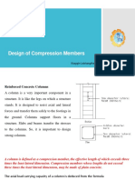 Design of Compression Members