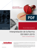 Norma ISO 9001:2015