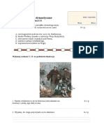 Test Wojny Dynastyczne i Religijne Grupa A