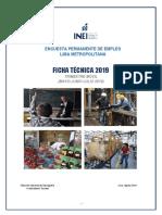 Encuesta Permanente Empleo Lima Metropolitana - 1er trimestre 2019