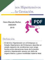Trastornos Hipertensivos en La Gestación