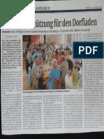 Bericht Rp Dorfladen-Frohnhofen