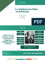 FVS - Captação e Vigilância do Óbito no Amazonas