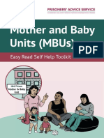 Mother and Baby Units Easy Read