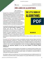 El Pequeño Libro de Algoritmos
