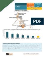 Philippines OOSC Profile