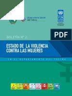 estado de la violencia de genero 2015-2016