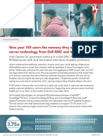 Give your VDI users the memory they need with server technology from Dell EMC and Intel - Summary