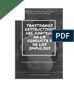 Trastornos del control de la conducta y los impulsos