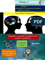 Principios básicos de la estadística/Módulo 17