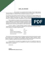 carta de invitacion a personal técnico extranjero
