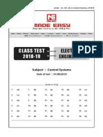 Class test solutions