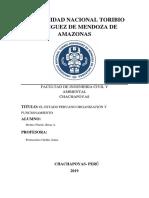 El Estado Peruano Organizacion y Funcionamiento