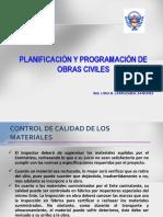 Planificacion y Programacion de Obras Civiles