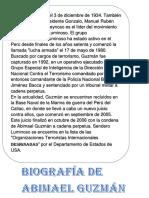 Biografía de Abimael Guzmán