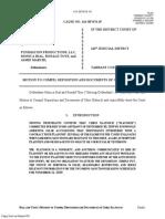 Motion to Compel Slatosch Deposition