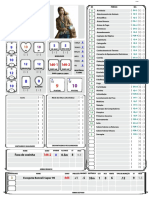 Ficha D&D5 Para Gurps v6.0