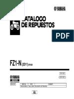 yamaha fz catalogo