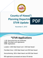 Hawai'i County Short-Term Vacation Rental Regulations Update