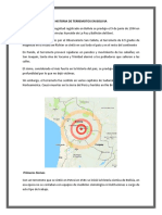 Historia de Terremotos en Bolivia