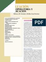 EVALUACIÓN PREOPERATORIA CAPITULO 13 EN ESPAÑOL BASICS OF ANESTHESIA