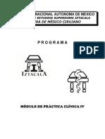 Programa Pc IV Revisado Julio 2019