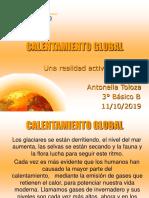 Calentamiento Global Antonella Toloza