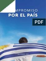 """Documento definitivo de """"Compromiso por el país"""""""