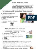 Alexandra Torrealba Complicaciones de Los Anestesicos