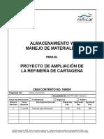 Procedimiento de Almacenamiento de Materiales