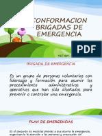 Conformacion Brigadas de Emergencia y Grupos de Apoyo