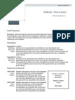 curriculum modelos