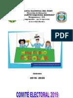 Organización Del Municio Escolar 2018 - Meb