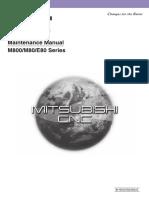 M800 M80 E80 Maintenance Manual