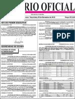 Diario Oficial 05-11-2019