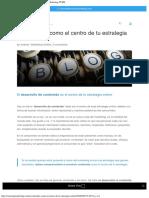 El contenido como el centro de tu estrategia online - Marketing PYME.pdf