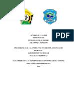 contoh laporan aktualisasi BAB I, II, dan III