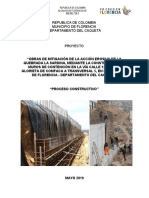 Proceso Constructivo Muro Gestion d Riesgo