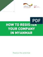 How to Register Company Handbook En