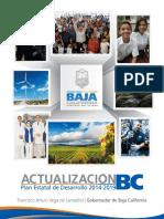 Actualizacion Del Plan Estatal de Desarrollo 2014-2019